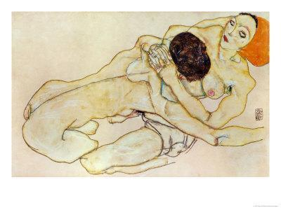 Two Girls (Lovers), 1914
