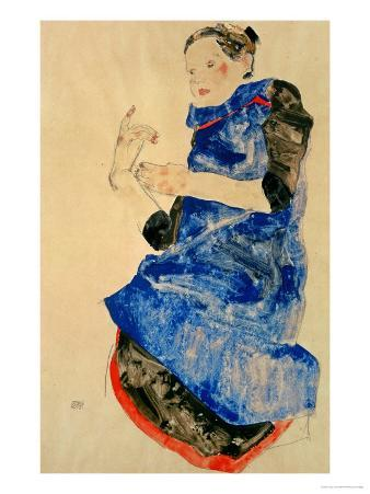 Girl in Blue Apron, 1912