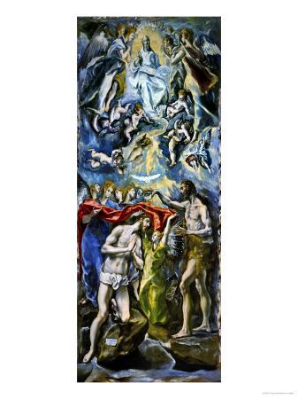 The Baptism of Jesus Christ, 1597/1600
