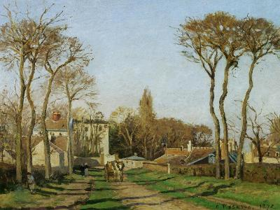 Entry into the Village of Voisins (Yvelines), 1872