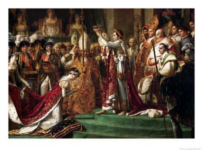 The Coronation of Emperor Napoleon I Bonaparte