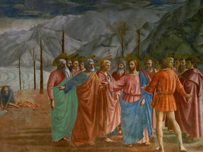 The Tribute Money, 1415-1428