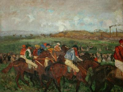 A Gentlemen's Race, Before the Start, 1862 and 1882