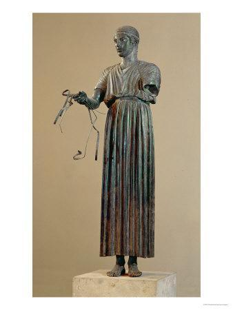 The Charioteer of Delphi, a Votive Offering from Polyzalos