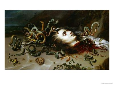 The Head of Medusa, circa 1618