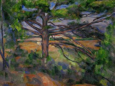 Large Pine Tree and Red Earth, 1890-1895