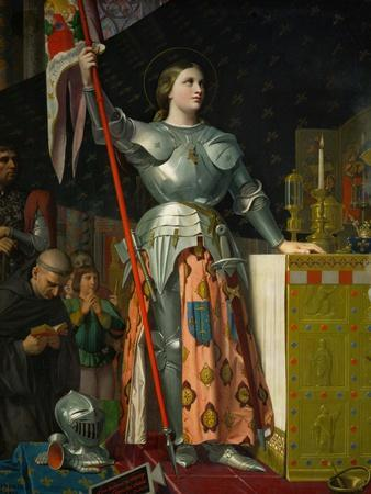 Joan of Arc at the Coronation of King Charles VII at Reims Cathedral, July 1429