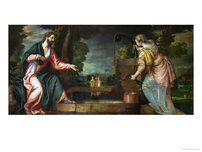 Christ and the Samaritan Woman at the Well, circa 1580