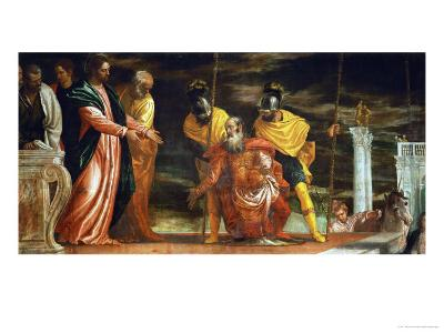 The Centurion of Capernaum Who Begs Jesus to Heal His Paralyzed Servant