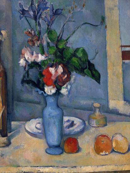 The Blue Vase 1885 87 Giclee Print By Paul Czanne At Allposters
