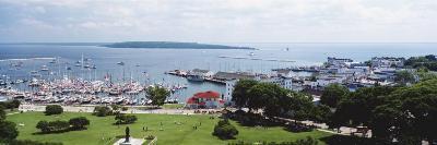 Harbor, Mackinac Island, Michigan, USA