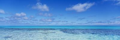 Clouds over the Pacific Ocean, Rangiroa, French Polynesia