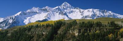 Snowcapped Mountains, Rocky Mountains, Telluride, Colorado, USA