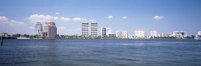 Waterfront and Skyline, West Palm Beach, Florida, USA