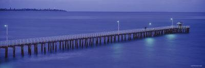 Pier at Dusk, Point Lonsdale, Geelong, Victoria, Australia