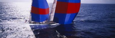 Yacht in the Sea, Caribbean