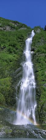 Bridal Veil Falls, Keystone Canyon, Alaska, USA
