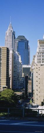 Skyscrapers, Manhattan, New York, USA
