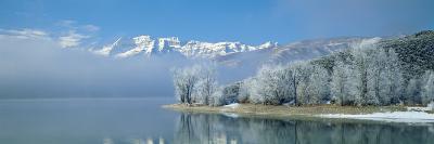Mist over a Lake, Deer Creek State Park, Utah, USA