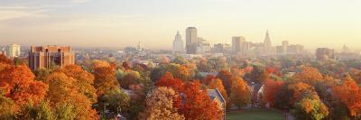 Autumn Trees in a City, Hartford, Connecticut, USA