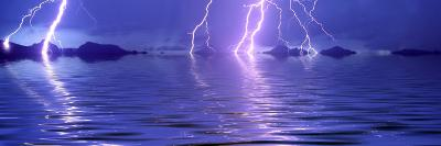 Lightning over the Sea