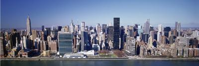 Buildings on the Waterfront, Manhattan, New York, USA