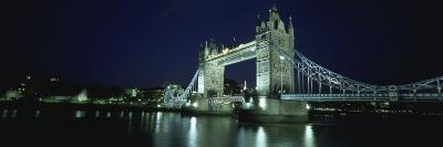 Bridge Across a River, Tower Bridge, Thames River, London, England