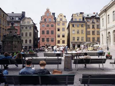 Stortorget, Gamla Stan (Old Town), Stockholm, Sweden, Scandinavia