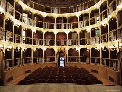 Teatro Torti, Within the Gothic Shell of Former Palazzo Dei Consoli, Umbria