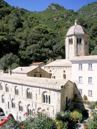 Benedictine Abbey of San Fruttuosa, Headland of Portofino, Liguria, Italy