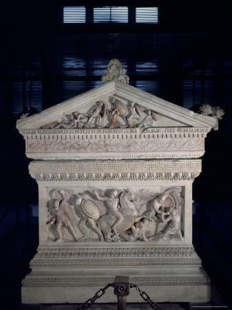 Sarcophagus of Alexander the Great, Istanbul, Turkey