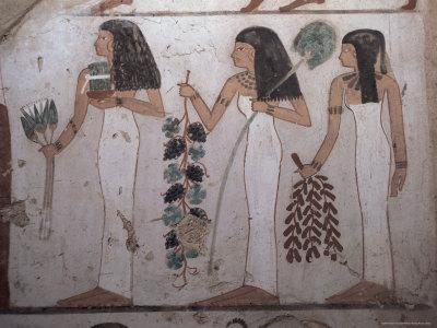 Tomb of Djeserkharaseneb, Thebes, Unesco World Heritage Site, Egypt, North Africa, Africa