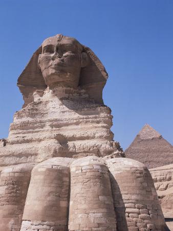 Sphinx, Giza, Unesco World Heritage Site, Near Cairo, Egypt, North Africa, Africa