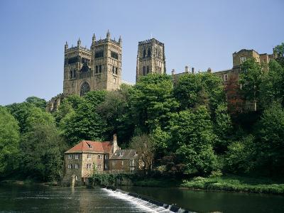 Durham Cathedral, Unesco World Heritage Site, Durham, County Durham, England, United Kingdom