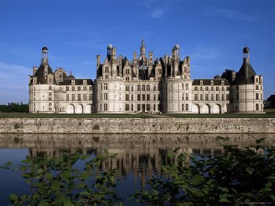 Chateau De Chambord, Loire Valley, Unesco World Heritage Site, Loir-Et-Cher, Centre, France