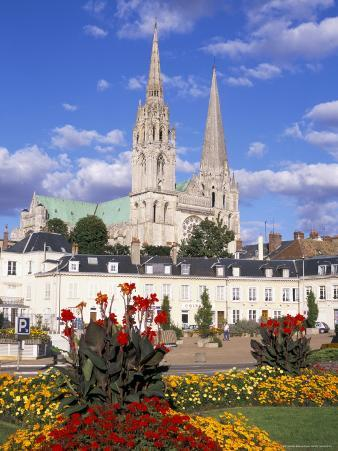Chartres Cathedral, Unesco World Heritage Site, Chartres, Eure-Et-Loir, France