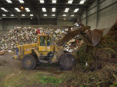 Waste Disposal Depot, England, United Kingdom