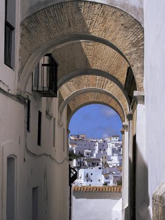 Arch of the Monjas, Vejer De La Frontera, Andalucia, Spain