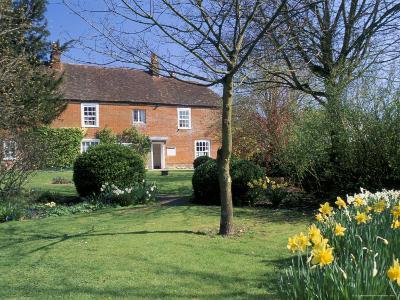 Jane Austen's House, Chawton, Hampshire, England, United Kingdom