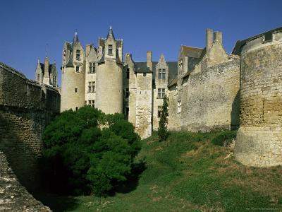 Chateau Montreuil Bellay, Near Saumur, Western Loire, Loire Valley, France