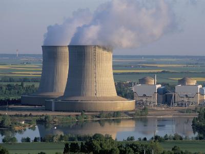 Nuclear Power Station of Saint Laurent-Des-Eaux, Pays De Loire, Loire Valley, France