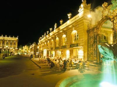 Place Stanislas at Night, Nancy, Meurthe-Et-Moselle, Lorraine, France