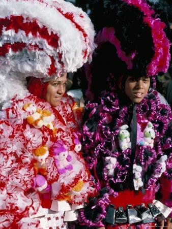Carnaval Sur Le Mayo (Carnival), Santo Domingo, Dominican Republic, Hispaniola