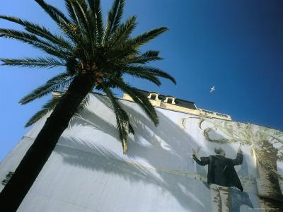 Painting of Fabio Rieti, Quai Des Etats-Unis, Nice, Alpes-Maritimes, Provence, France