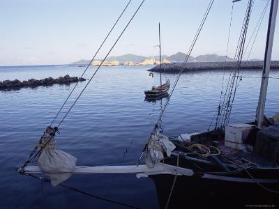 Fishing Port, West Coast, Island of La Digue, Seychelles, Indian Ocean, Africa
