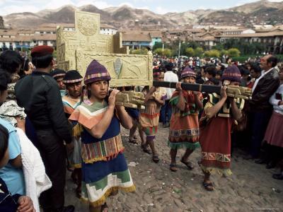 Inti Rayma Festival, Cuzco, Peru, South America