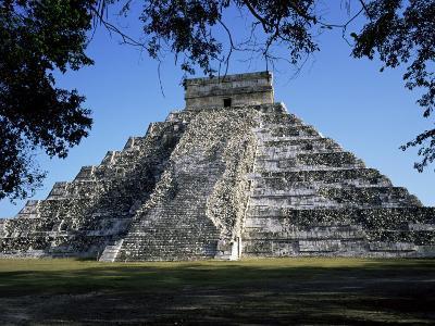 Great Pyramid (El Castillo), Chichen Itza, Unesco World Heritage Site, Yucatan, Mexico