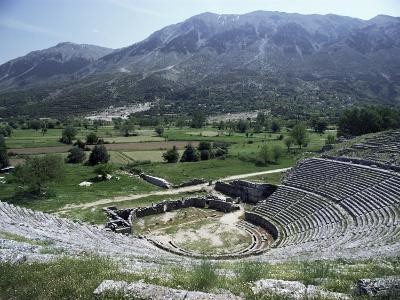 Dodoni Theatre, Dodona, Central Ipiros (Epirus), Greece