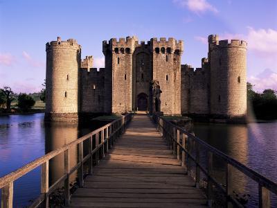 Bodiam Castle, East Sussex, England, United Kingdom