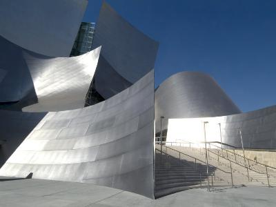 Walt Disney Concert Hall, Part of Los Angeles Music Center, Frank Gehry Architect, Los Angeles